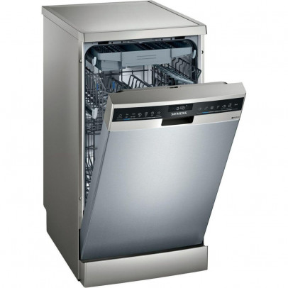 Siemens SR23EI28ME Slimline Dishwasher with Cutlery Tray – Stainless Steel