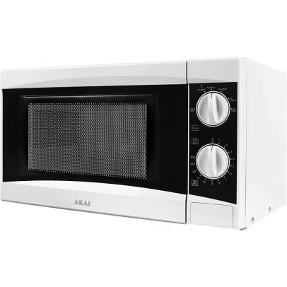 Akai A24001 20L Solo Microwave – White