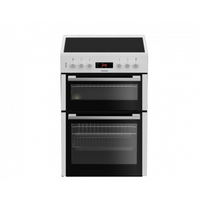 Blomberg HKN65W 60cm Double Oven Electric Cooker – White