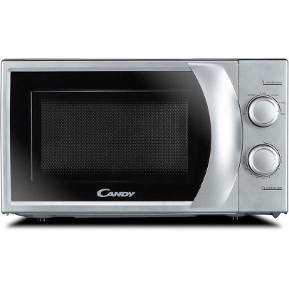Candy CMW2070S-UK 20L Solo Microwave – Silver