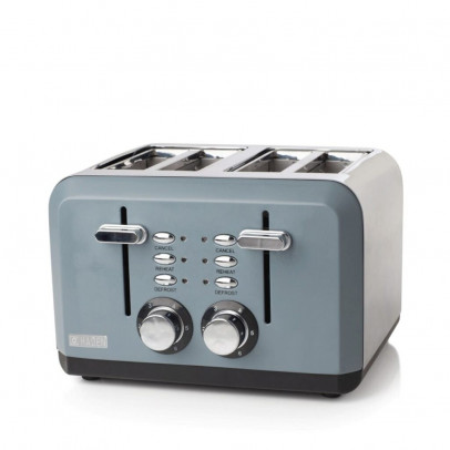 Haden 183453 4-Slice 'Perth' Toaster – Slate Grey