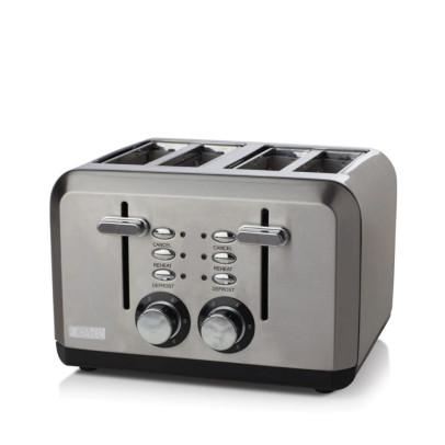 Haden 183477 4-Slice 'Perth' Toaster – Stainless Steel