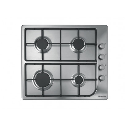 Hoover HGL64SX 60cm Gas Hob – Stainless Steel