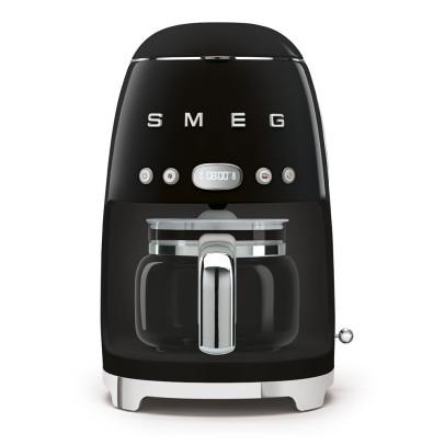 Smeg DCF02BLUK Retro Drip Filter Coffee Maker – Black