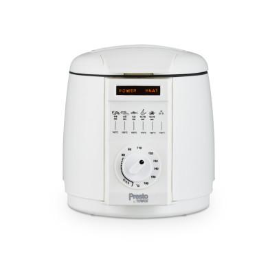 Tower PT17049WHT 1L Presto Deep Fat Fryer – White