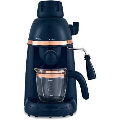 Tower T13014MNB Cavaletto 4-Cup Espresso Machine – Midnight Blue