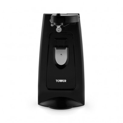 Tower T19007 3-in-1 Can Opener with Knife Sharpener & Bottle Opener