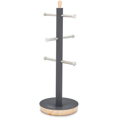 Tower T826032G Scandi Mug Tree – Grey