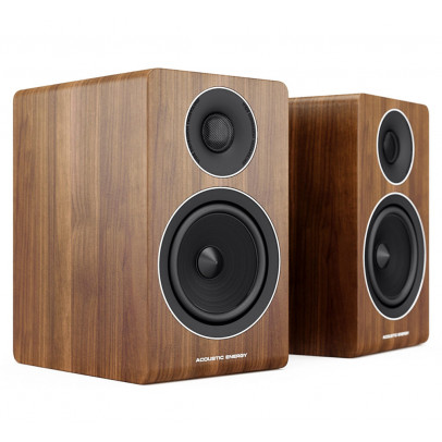 Acoustic Energy AE300 & Reference Speaker Stand Package – Walnut