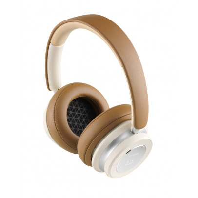 Dali IO-6 Wireless Noise-Cancelling Over-Ear Closed-Back Headphones – Caramel White