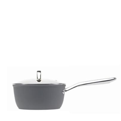 Haden 192547 16cm 'Perth' Forged Aluminium Saucepan – Slate Grey