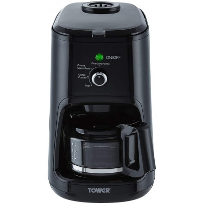 Tower T13005 Bean-To-Cup Filter Coffee Maker