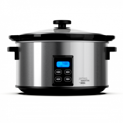 Wahl ZX929 'James Martin' 4.7L Digital Slow Cooker – Stainless Steel