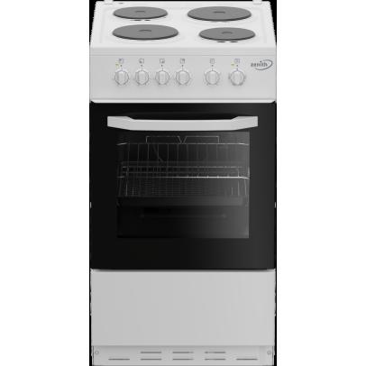 Zenith ZE503W 50cm Electric Cooker – White