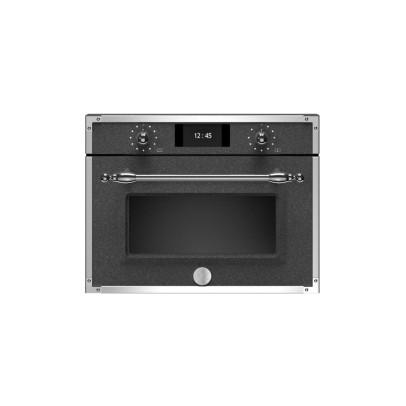 Bertazzoni F457HERMWTND 45cm 'Heritage Series' Combination Microwave – Black Décor