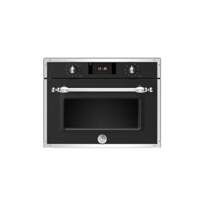 Bertazzoni F457HERMWTNE 45cm 'Heritage Series' Combination Microwave – Matt Black