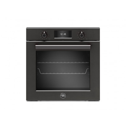 Bertazzoni FF6011PROVPTN Built-In 'Professional Series' Single Pyro Total Steam Single Oven with TFT Display – Carbonio