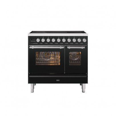 Ilve PDI09WE3/MG 90cm Roma Induction Double Oven Range Cooker with 5 Induction Zones – Matt Graphite