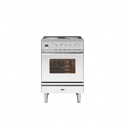 Ilve PI06WE3/SS 60cm Roma Induction Mini Range with 4 Zone Induction – Stainless Steel