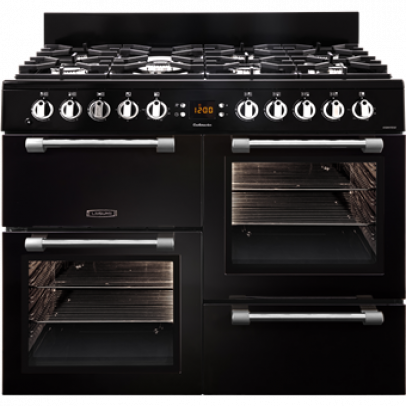 Leisure CK100F232K 100cm Cookmaster Dual Fuel Range Cooker – Black