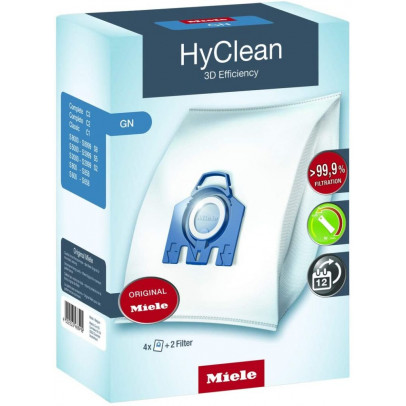 Miele GN HyClean 3D Vacuum Cleaner Bags – Pack of 4