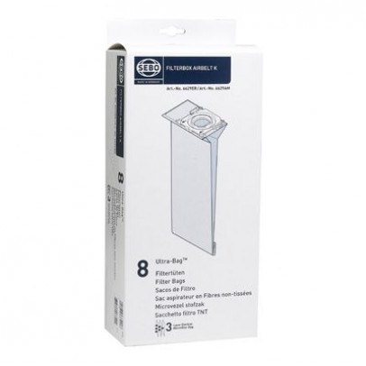 Sebo 6629ER Vacuum Cleaner Bags For K Machines – Pack of 8