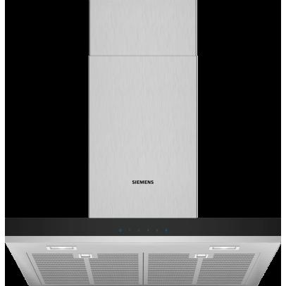 Siemens LC67BHM50B 60cm Flat Chimney Hood – Stainless Steel