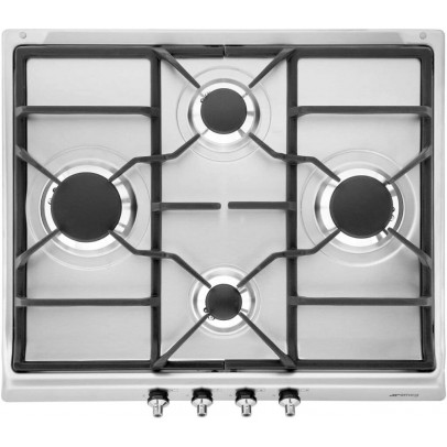 Smeg SE60SGH3 60cm 'Classic' Gas Hob – Stainless Steel