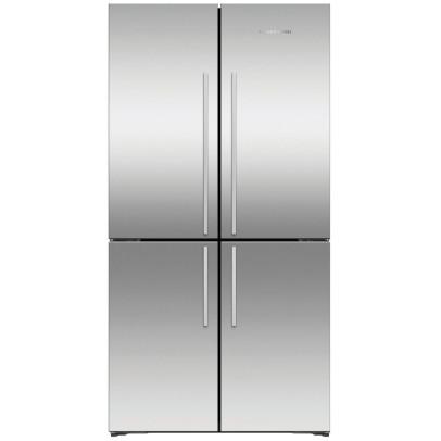 Fisher & Paykel RF605QDVX1 90.5cm Quad-Door Frost Free Fridge Freezer – Stainless Steel