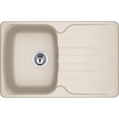 Franke AZG611-78CO 78cm 'Antea' Single Bowl Fragranite Inset Sink with Reversible Drainer – Coffee