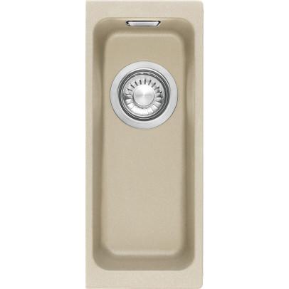 Franke KBG110-16CO 18.7cm 'Kubus' 0.5 Bowl Fragranite Undermount Sink – Coffee