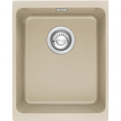 Franke KBG110-34CO 38cm 'Kubus' Single Bowl Fragranite Undermount Sink – Coffee