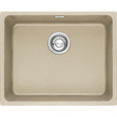 Franke KBG110-50CO 54cm 'Kubus' Single Bowl Fragranite Undermount Sink – Coffee