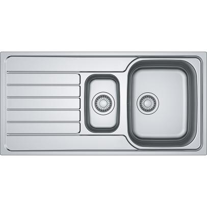 Franke SKX651 100cm 'Spark' 1.5 Bowl Inset Sink with Reversible Drainer – Stainless Steel