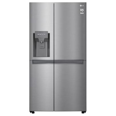 LG GSL480PZXV 91.2cm Plumbed Frost Free USA Fridge Freezer – Stainless Steel