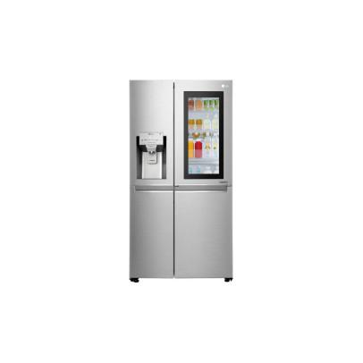 LG GSX960NSVZ 91.2cm InstaView Plumbed USA Frost Free Fridge Freezer – Stainless Steel