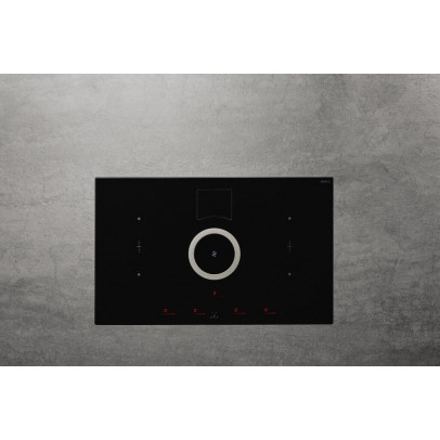 Elica NT-SWITCH-BLK-DO 83cm 'NikolaTesla' Venting Induction Hob – Black – Duct Out Version