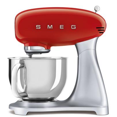 Smeg SMF02RDUK 800W Retro Stand Mixer – Red