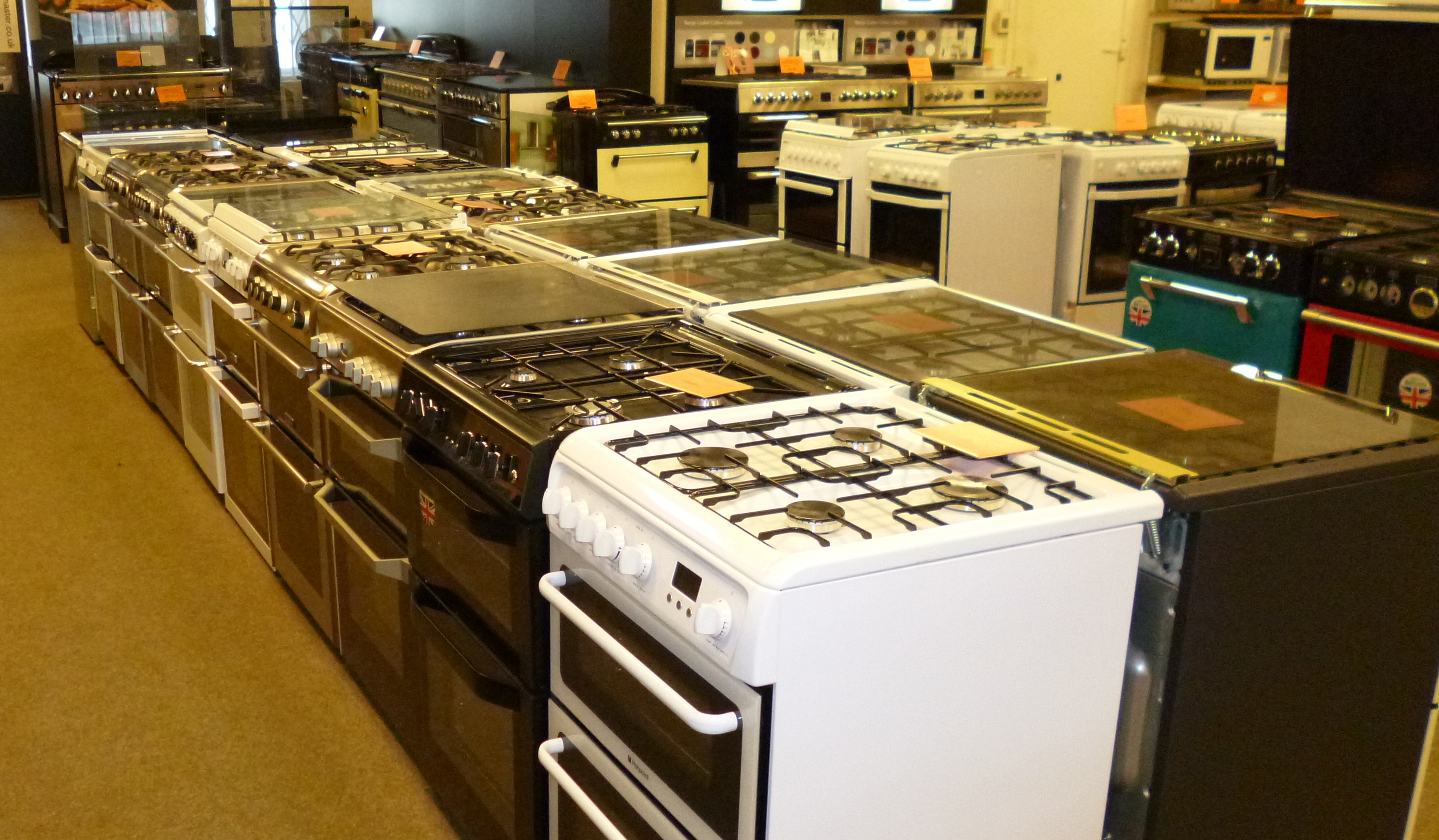 Freestanding Electric Cookers