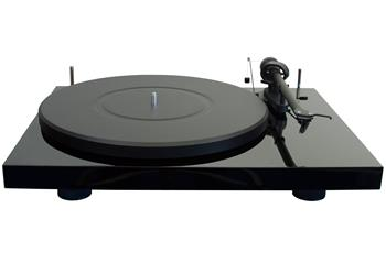 Pro-Ject Debut 3 S/E Turntable – Gloss Black