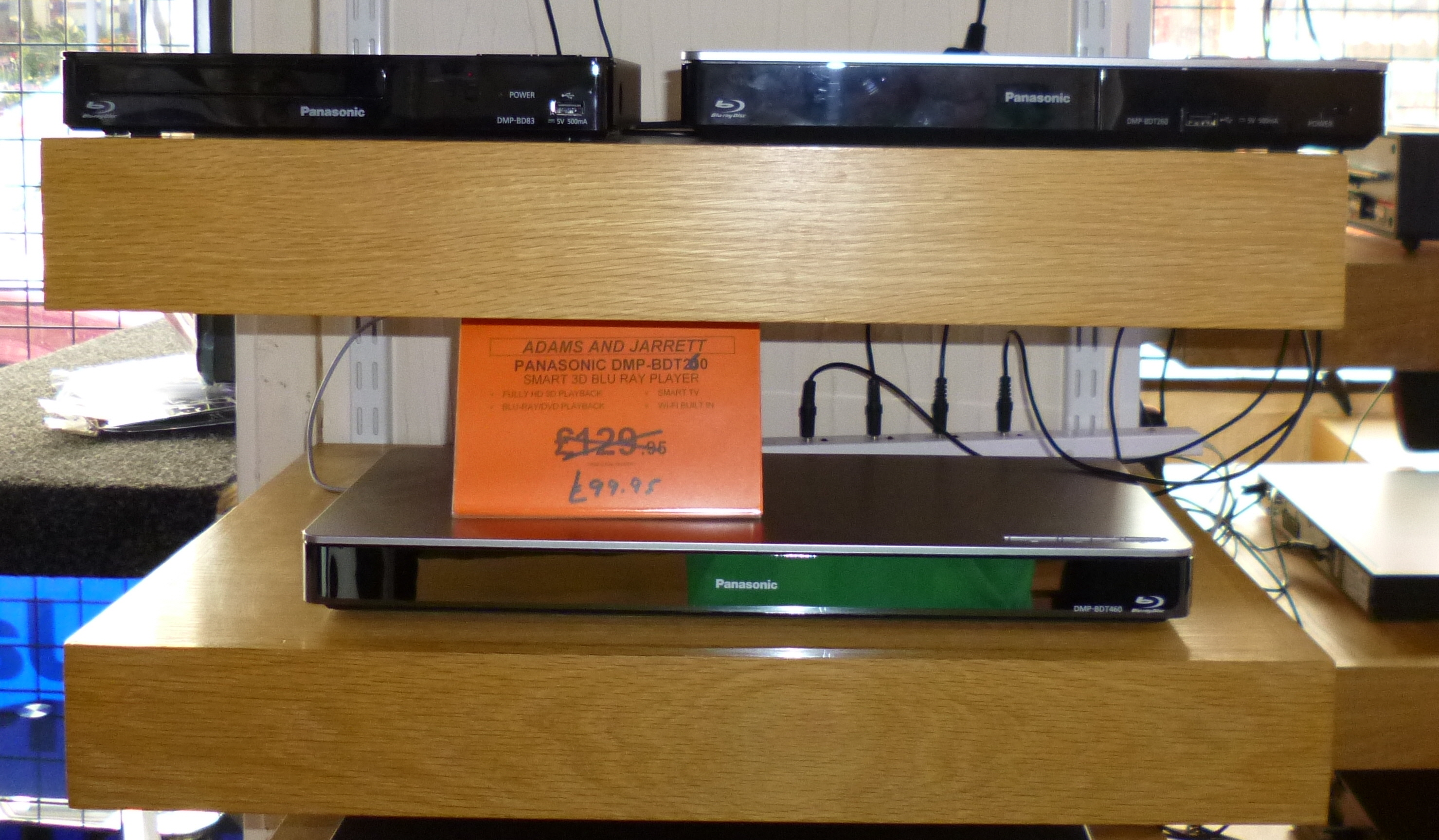 Blu-Ray Players, DVD Players, Freesat & Freeview Recorders