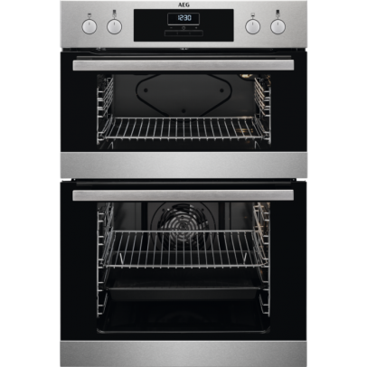 AEG DEB331010M Built-In Double Oven – Stainless Steel