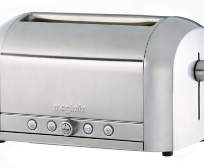 Magimix 11535 4-Slice Toaster – Polished Steel