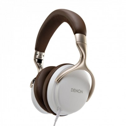 Denon AH-D1200-W Over-Ear Closed Back Headphones – White