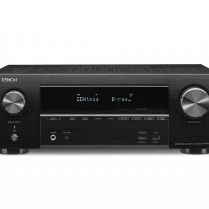 Denon AVR-X1500H 7.2 Channel 4K UHD AV Receiver with HEOS – Black