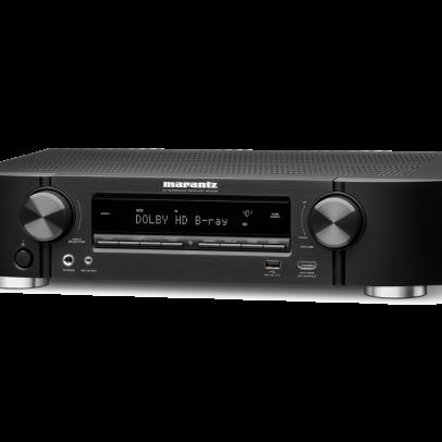 Marantz NR1509 Slimline 5.2 Channel 4K UHD AV Receiver with HEOS – Black