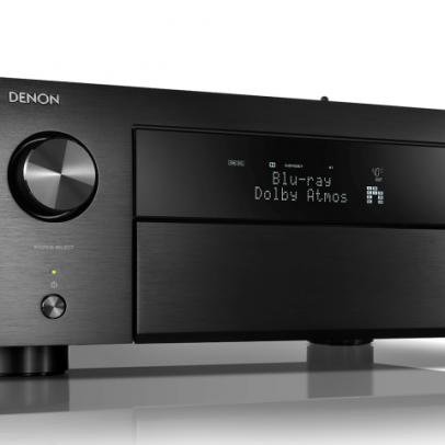 Denon AVR-X4500H 9.2 Channel 4K HDR AV Receiver with HEOS & Alexa – Black