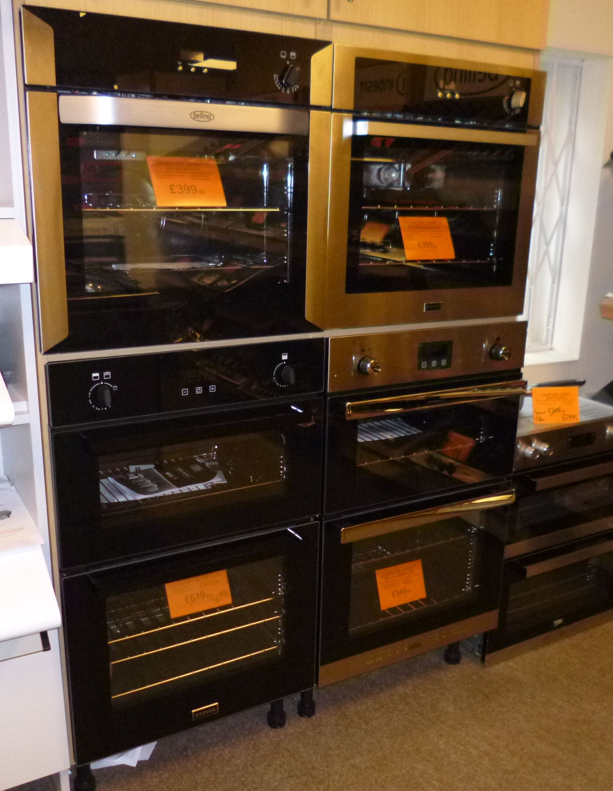 Gas Single Ovens