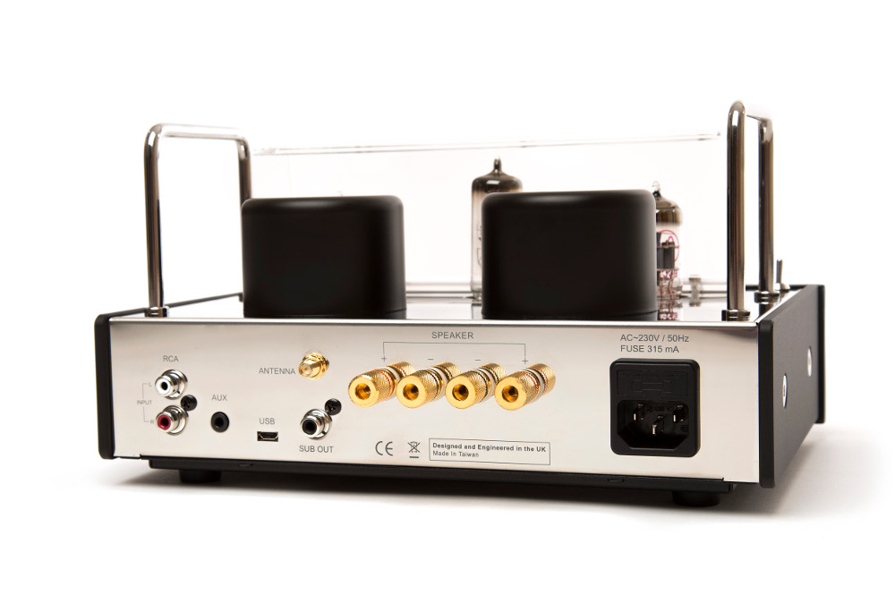 Blue Aura V40 Limited Edition Blackline Integrated Stereo Valve Amplifier  with Bluetooth – Walnut