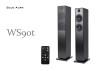Blue Aura WS90t Wireless Floorstanding Speakers (Remote)